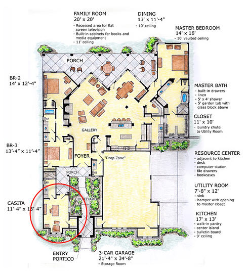 Casitas Design And Diversity Family Home Plans Blog