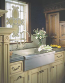 "Farmhouse or ""Apron - Front"" Sink"