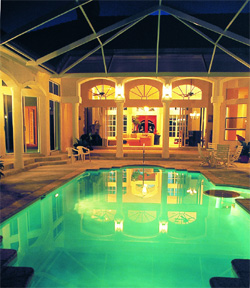 Pool House Plans :: Custom DIY Pool Cabana Construction Plans