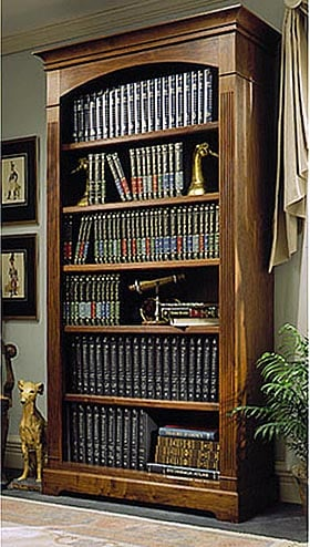 Towering Tomes Bookcase Woodworking Plan - Product Code DP-00108