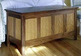 Heirloom Hope Chest Woodworking Plan - Product Code DP-00190