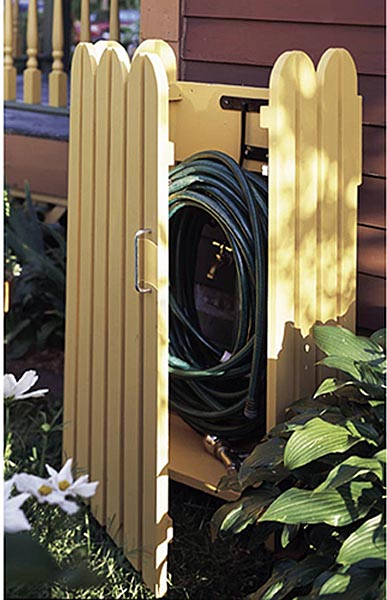 Garden Hose Hider Woodworking Plan - Product Code DP-00462