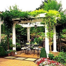 Private Paradise Pergola - Project Plan 301010