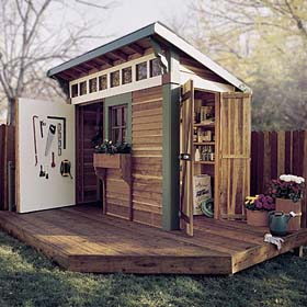 Puttering Shed Plan - Project Plan 500371