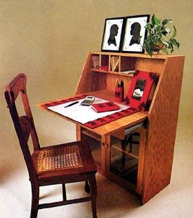 Slant-Front Desk - Project Plan 504365