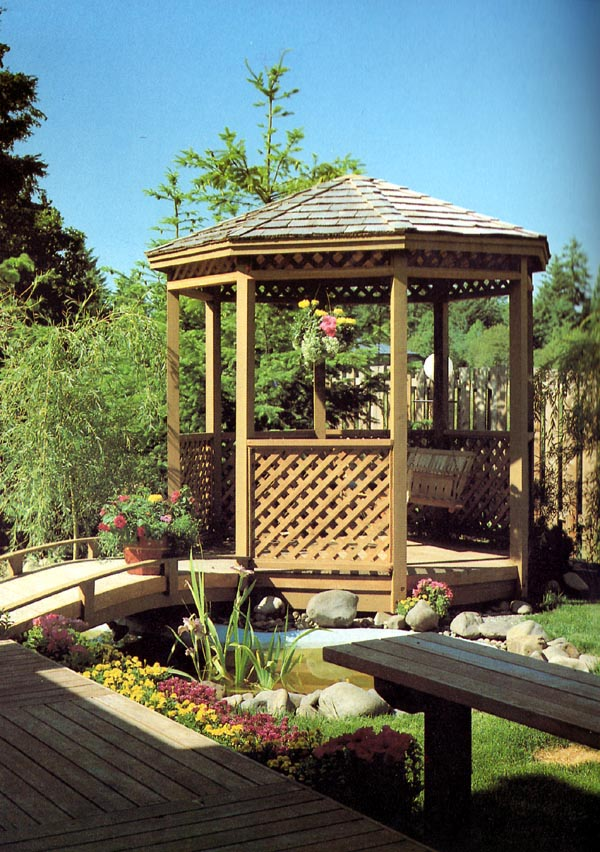 Eight-Sided Gazebo - Project Number 504383