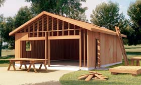 The How-to-Build Garage Plan - Project Plan 6022