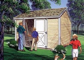 Salt Box Storage Sheds - Project Plan 85900