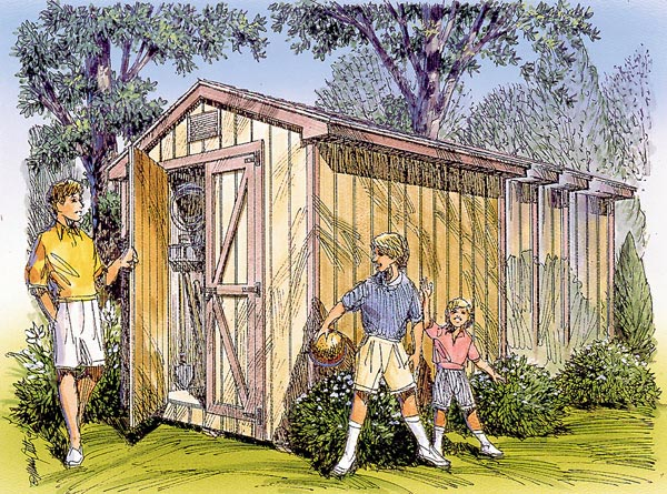 Gable Storage Shed - Project Plan 85903