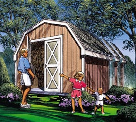 Barn Storage Shed - Project Plan 85908