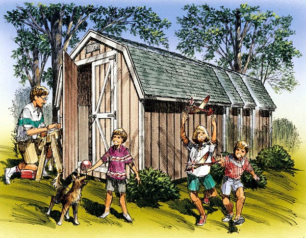 Mini Barns  - Project Number 85925