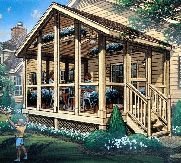 Screened Porch  - Project Plan 85933