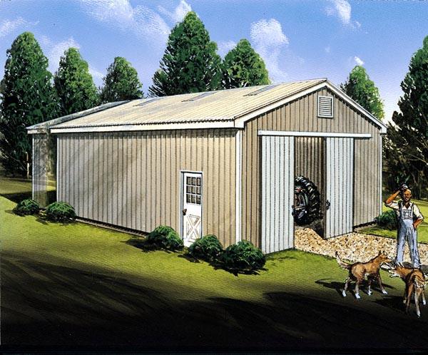 Pole Building  - Project Plan 85934