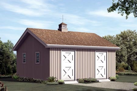 Horse Barn - 2 Stall - Project Number 85952