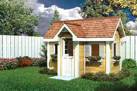 Traditional Children's Playhouse - Project Plan 90025