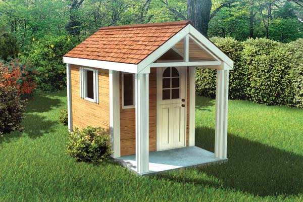 4'x8' Childrens Playhouse - Project Plan 90033