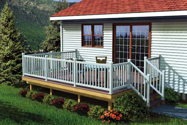 The Maintenance Free Easy Raised Deck - Project Number 90052