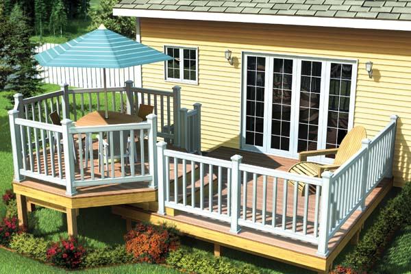 The Maintenance Free Picnic Deck - Project Plan 90053