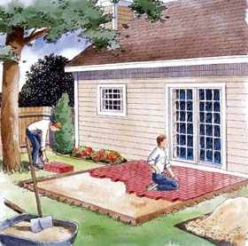 Easy to Build Patio's - Project Plan 90054